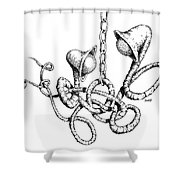 Practice To Deceive Shower Curtain