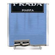 Prada Marfa Texas Shower Curtain by Jack Pumphrey