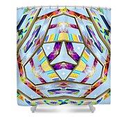 Praecipua Metallah Shower Curtain