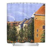 Prague Castle Shower Curtain