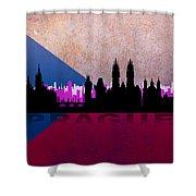 Prague City Shower Curtain