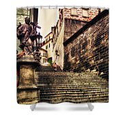 Prague Hradczany Shower Curtain