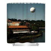 Prague In The Day Shower Curtain
