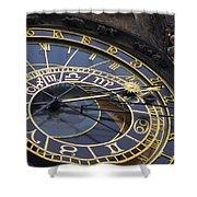 Prague Orloj Shower Curtain