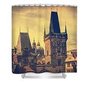 Praha Shower Curtain