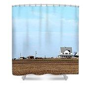 Prairie Farm Shower Curtain
