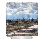 Prairie Image Shower Curtain