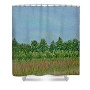 Prairie Morning Light Shower Curtain