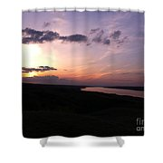 Prairie Sunset Shower Curtain