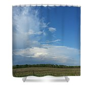 Prairie Thunder Shower Curtain