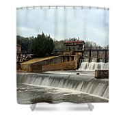 Prattville Dam Prattville Alabama Shower Curtain