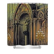 Prayer And Contlemplation Shower Curtain
