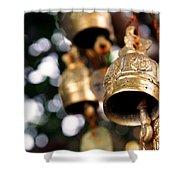 Prayer Bells Shower Curtain