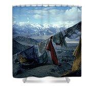 Prayer Flags Leh Ladakh Shower Curtain