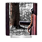 Prayer For The Earth Shower Curtain