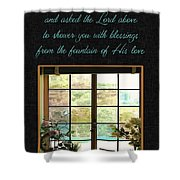 Prayer For You Card Shower Curtain
