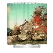 Prayers On Ponta Shower Curtain