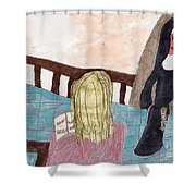 Praying For A Vocation Shower Curtain
