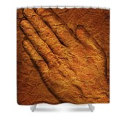 Praying Hands Shower Curtain by Don Hammond