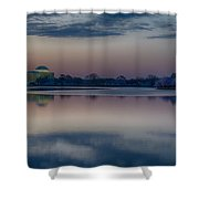 Pre-dawn At The Jefferson Memorial  Shower Curtain