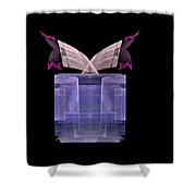Preaching From The Pulpit Shower Curtain