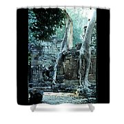 Preah Khan Temple 01 Shower Curtain