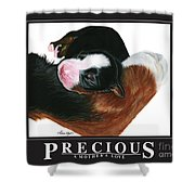 Precious - A Mother's Love Shower Curtain