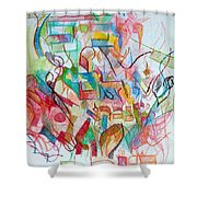 Precious Is Man For He Is Created In The Divine Image 3 Shower Curtain