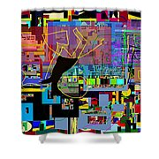 precious is man for he is created in the Divine Image 7 Shower Curtain