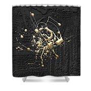 Precious Splashes - 4 Of 4 Shower Curtain