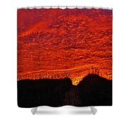 Predawn Dune Perfection 4 10/30 Shower Curtain