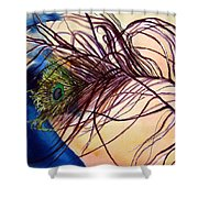 Preening For Attention Sold Shower Curtain