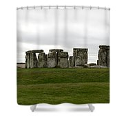Prehistoric Monument - Stone Henge Shower Curtain
