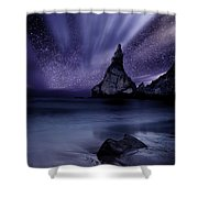 Prelude To Divinity Shower Curtain by Jorge Maia