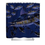 Premonition Off0063 Shower Curtain