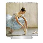 Preparation For Dance - D008548-a Shower Curtain