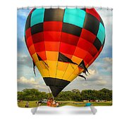 Prepare For Lift Off Shower Curtain