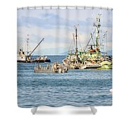 Prepared For Action Shower Curtain
