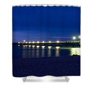 Prerow Baltic Sea Shower Curtain