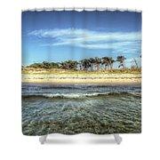 Prerow Beach Shower Curtain