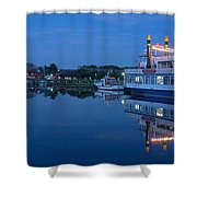 Prerow Hafen Shower Curtain