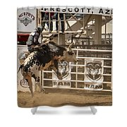 Prescott Az Rodeo Shower Curtain