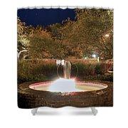Prescott Park Fountain Shower Curtain
