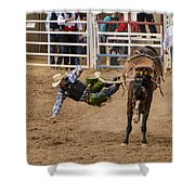 Prescott Rodeo 2014  Shower Curtain