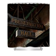 Preservation Hall Jazz Club Shower Curtain