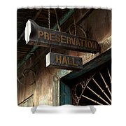 Preservation Hall Shower Curtain