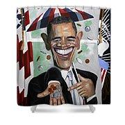 President Barock Obama Change Shower Curtain