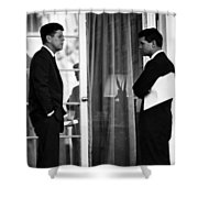 President John Kennedy And Robert Kennedy Shower Curtain