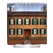 President Lincoln Home Springfield Illinois Shower Curtain
