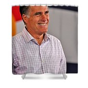 Presidential Material Shower Curtain